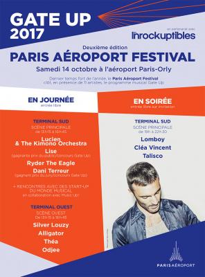 Paris Aéroport Festival 2017 à Orly : date et programmation