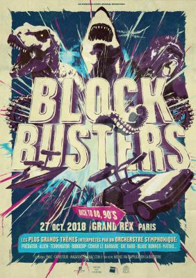 Blockbusters : The Badass Symphony au Grand Rex de Paris