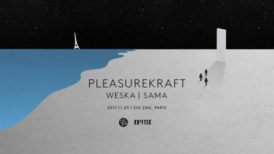 Pleasurekraft présente Kraftek Showcase au Zig Zag Club