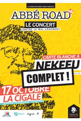 Concert Abbé Road 2017 à La Cigale de Paris