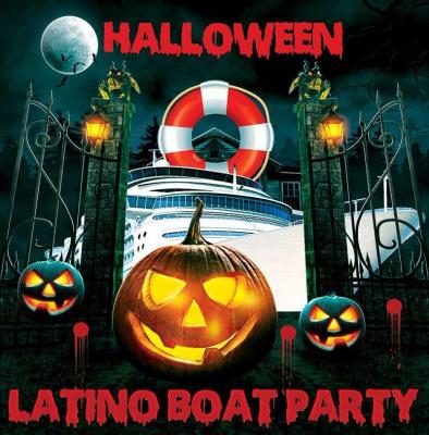 Halloween 2017 : Halloween Latino Boat Party au Bateau L'Evènement