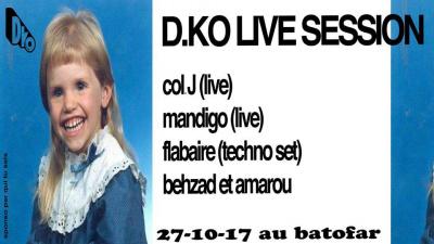 D. KO Live Session #6 au Batofar