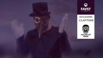 Faust x House of Mask avec Claptone