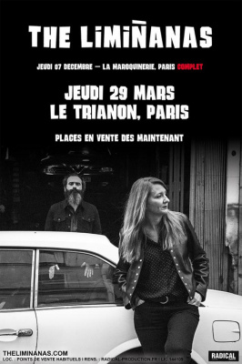 The Limiñanas en concert au Trianon de Paris en mars 2018