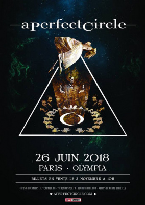 A Perfect Circle en concert à l'Olympia de Paris en juin 2018