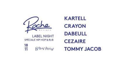 Free Your Funk à La Bellevilloise avec Roche Musique Label