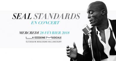 Seal en concert à La Seine Musicale en février 2018