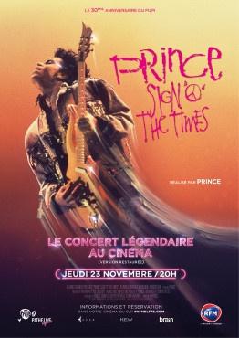 """Séance unique du film """"Sign O' The Times"""" de Prince au cinéma"""