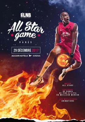 All Star Game 2017 à l'AccorHotels Arena Bercy de Paris