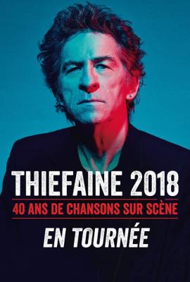 Hubert-Félix Thiéfaine en concert à l'AccoHotels Arena Bercy de Paris en novembre 2018