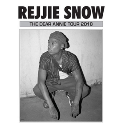 Rejjie Snow en concert au Trianon de Paris en mars 2018