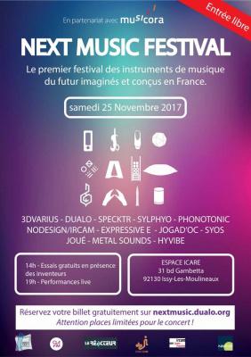 Next Music Festival 2017 à Issy-les-Moulineaux