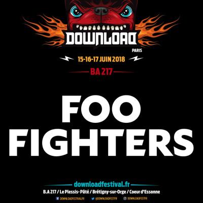 Download Festival Paris 2018 : les Foo Fighters rejoignent l'affiche
