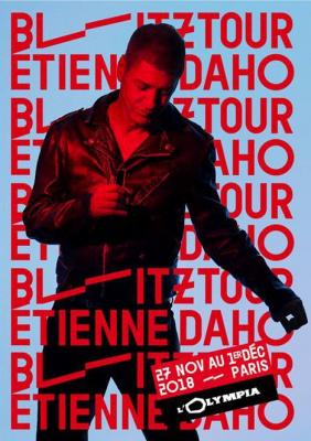 Etienne Daho en concert à l'Olympia de Paris à l'automne 2018