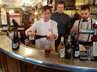Cocktails du Beaujolais Nouveau chez 5 Maîtres Restaurateurs à Paris