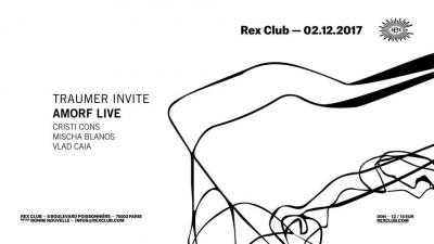 Traumer invite Amorf au Rex Club