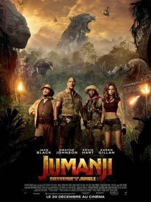 """""""Jumanji : Bienvenue dans la jungle"""" en avant-première au Grand Rex de Paris en présence de Dwayne Johnson"""