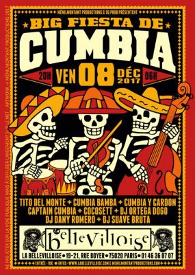 Big Fiesta de Cumbia à La Bellevilloise
