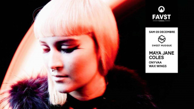 Faust x Sweet Musique avec Maya Jane Coles