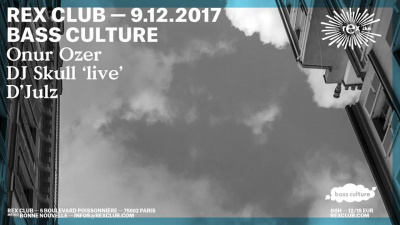 Bass Culture au Rex Club avec Onur Ozer