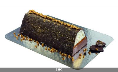 Bûche et chocolats de Noël 2017 by L'Atelier du Chocolat