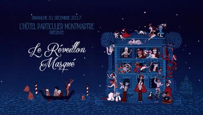Réveillon 2018 à Paris : le Réveillon Masqué de l'Hôtel Particulier Montmartre