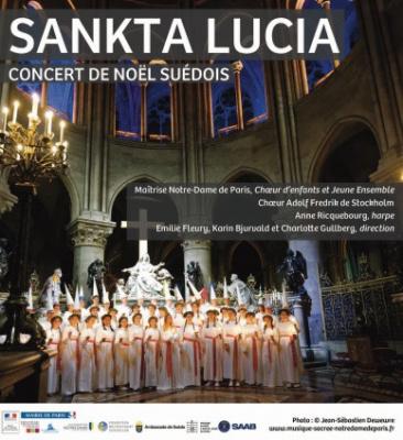 Concert de Noël Suédois 2017 : Concert de la Sainte-Lucie à Notre-Dame de Paris