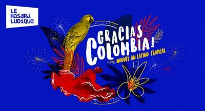 Réveillon 2018 à Paris : nouvel an tropical et colombien au Hasard Ludique