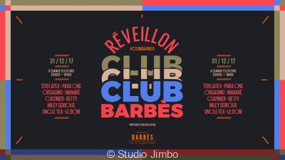 Réveillon 2018 à Paris : Club Barbès par Brasserie Barbès