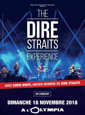 The dire straits experience en concert l 39 olympia de for Salon a paris en novembre