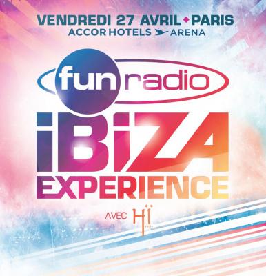 Fun Radio – Ibiza Experience de retour à l'AccorHotels Arena de Paris en 2018