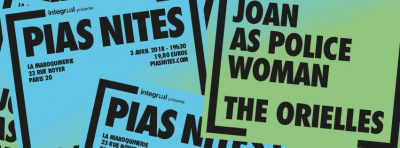 [PIAS] Nites à La Maroquinerie avec Joan As Police Woman