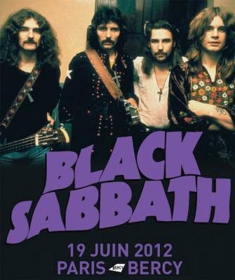 Black Sabbath Paris Bercy concert 2012