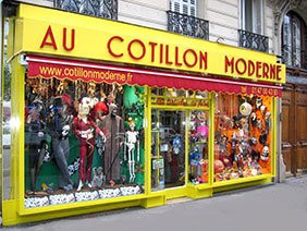 Déguisement halloween boutique paris
