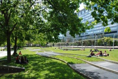 O pique niquer paris le jardin de l atlantique for Le jardin de l atlantique
