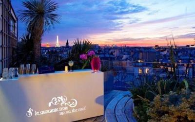 Guide des plus belles terrasses paris - Terrasse sur les toits de paris ...
