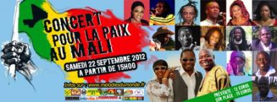 Concert pour la Paix au Mali
