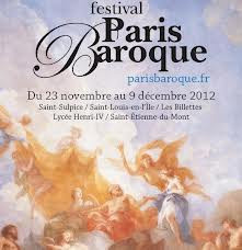 Festival Paris Baroque 2012