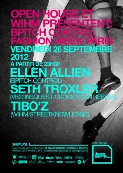 BPITCH Control Fashion Week au Showcase