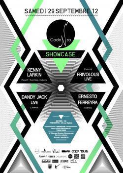 Cadenza au Showcase avec Kenny Larkin et Dandy Jack