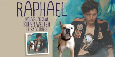 Raphaël en dédicace à la Fnac St Lazare pour la sortie de « Super Welter »