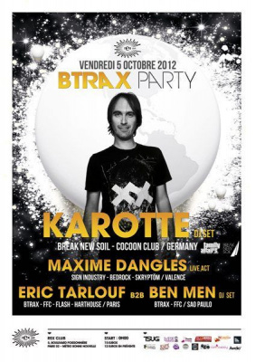 Btrax Party avec Karotte & More au Rex Club