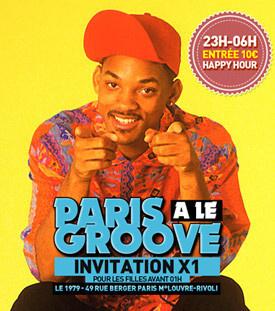 Infunfwetrust présente Paris a le Groove au 1979