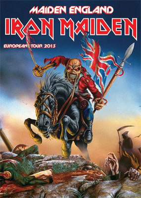 Iron Maiden à Paris Bercy en 2013 pour son Maiden England European Tour