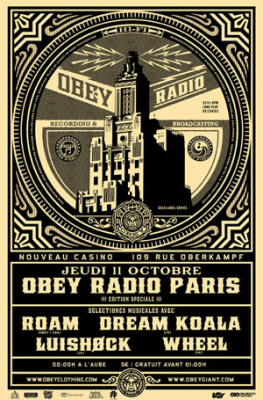 Obey Radio Party au Nouveau Casino