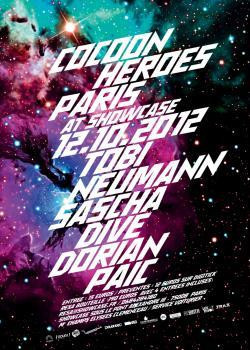 Cocoon Heroes au Showcase avec Dorian Paic