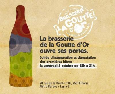 La Brasserie de la Goutte d'Or ouvre ses portes à Paris
