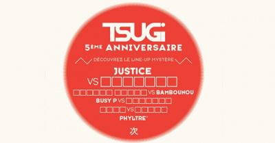 Tsugi fête ses 5 ans au Trabendo avec Justice et Busy P