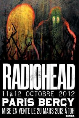 Report : Radiohead à Paris Bercy