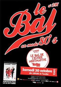 Le Bal en mode 80's la Machine
